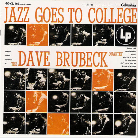 The Dave Brubeck Quartet ‎– Jazz Goes To College