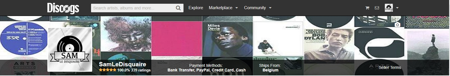 Discogs banner